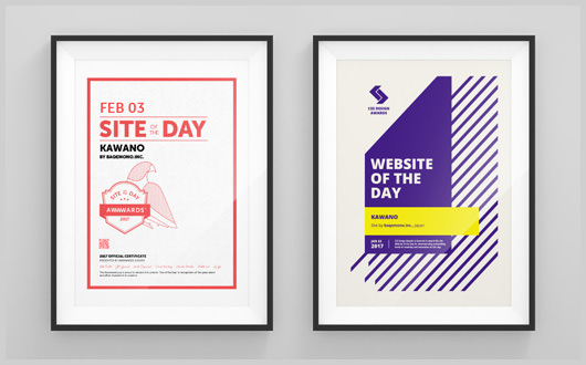 「Awwwards」「CSS Design Awards」にて2つの「Of The Day」を受賞しました